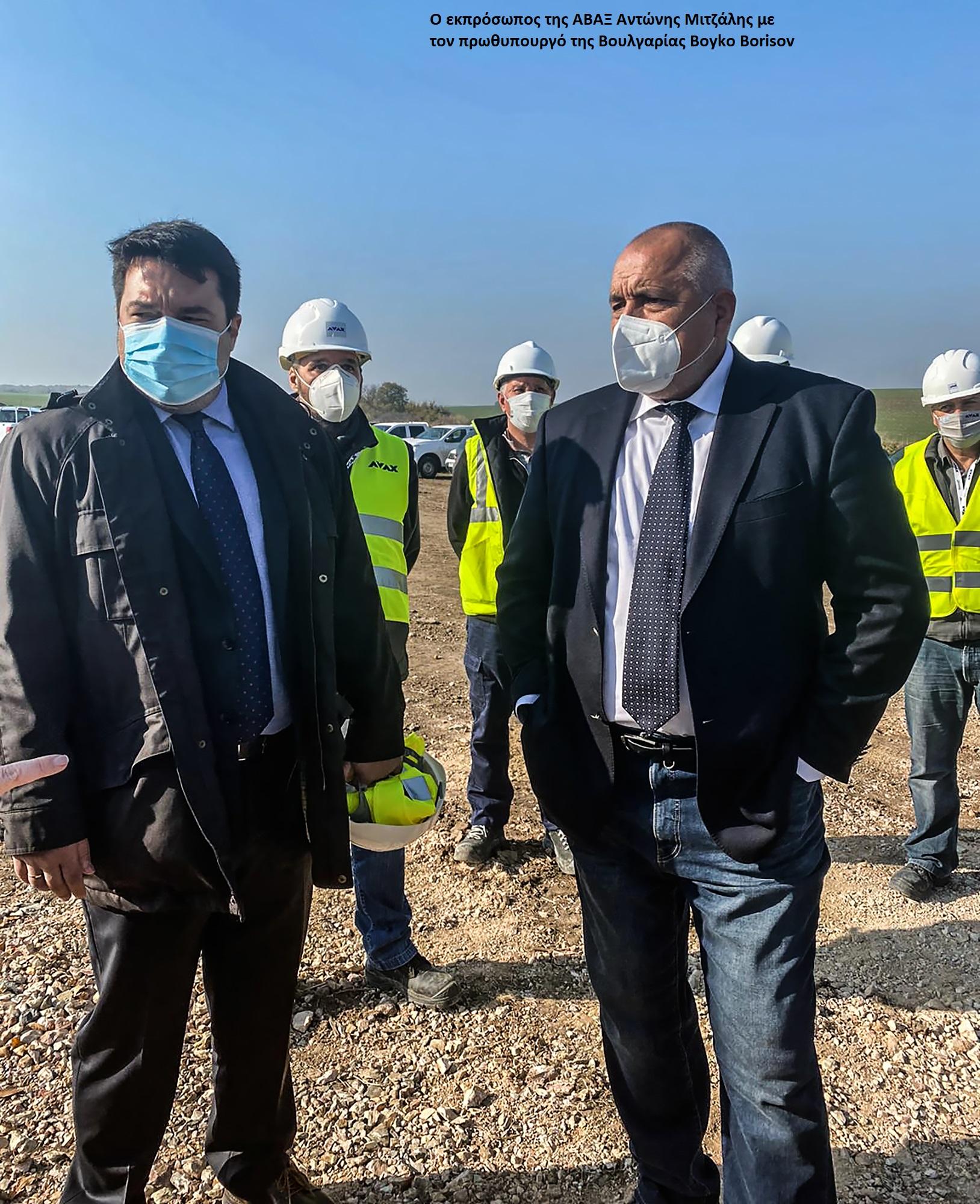 Επίσκεψη του πρωθυπουργού της Βουλγαρίας στο εργοτάξιο του Διασυνδετήριου Αγωγού Φυσικού Αερίου Ελλάδα – Βουλγαρία (IGB)